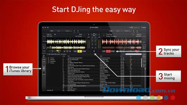 Cross DJ Free for Mac