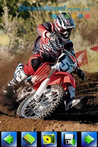 Off-road motorcycle racing for Android