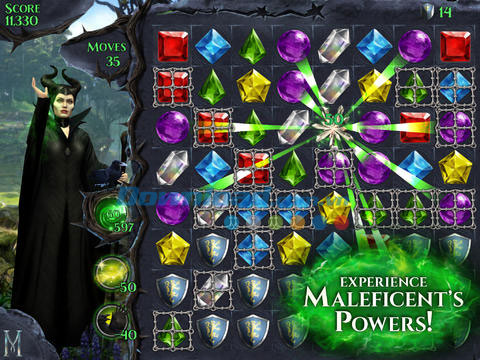 Maleficent Free Fall for iOS