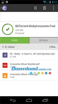 BitTorrent for Android