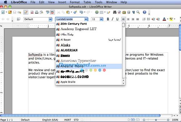 LibreOffice cho Mac