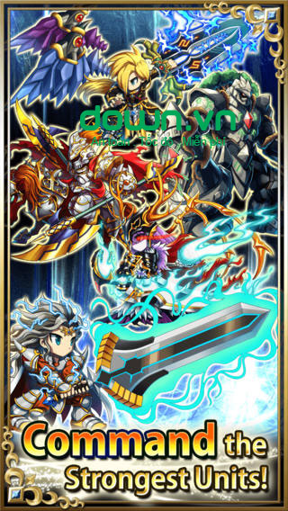 Brave Frontier cho iOS