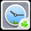 GO Clock Widget cho Android