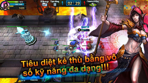 Soul Of Legends cho Android