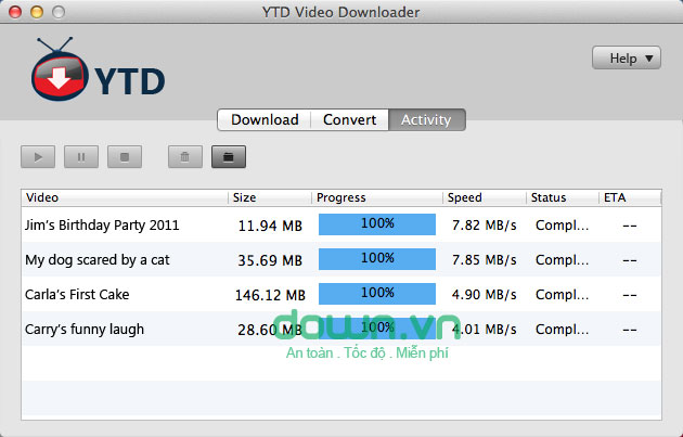 YTD Youtube Downloader for Mac