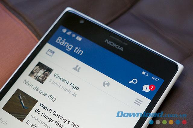 Facebook Beta trên Windows Phone