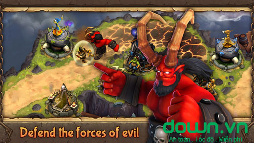Evil Defenders cho iOS