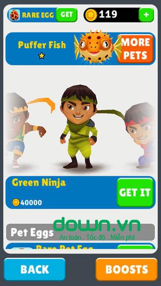 Ninja Kid Run cho iOS
