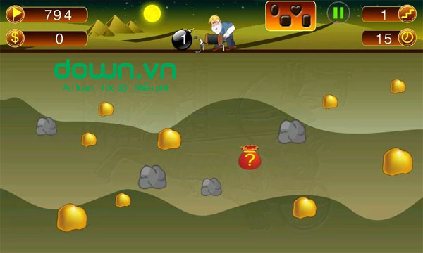 Mine Gold 2 cho Android