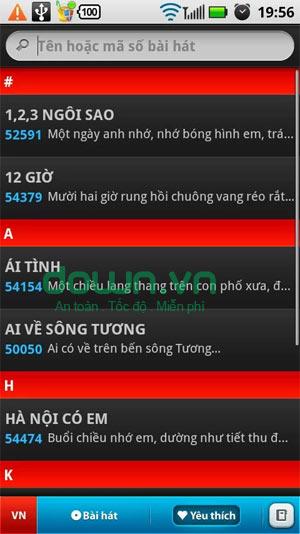 KarDroid-Arirang Karaoke List for Android