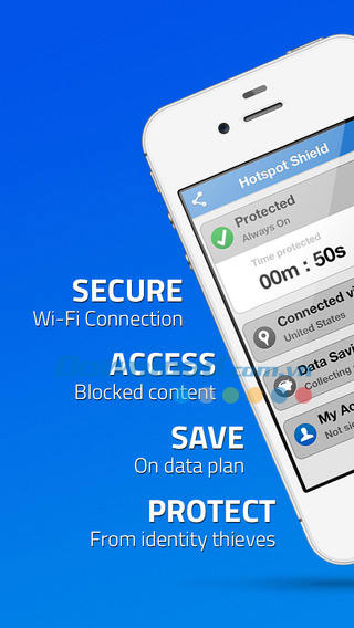 Hotspot Shield VPN cho iOS