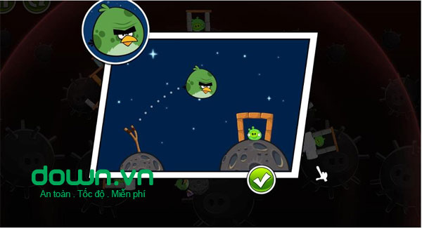 Angry Birds Space cho Android