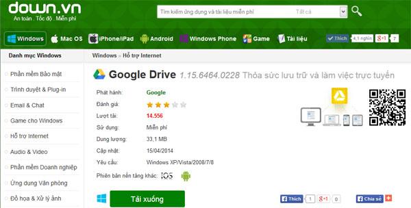 Hướng dẫn lưu trữ dữ liệu trực tuyến bằng Google Drive