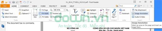 Hướng dẫn chèn ảnh vào file PDF