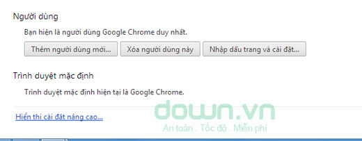 Hướng dẫn Reset lại trình duyệt Chrome