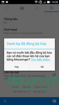 Facebook Messenger cho iOS