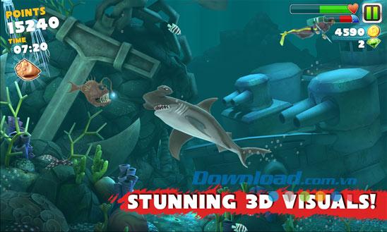Hungry Shark Evolution cho Windows Phone