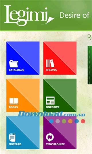 Legimi cho Windows Phone