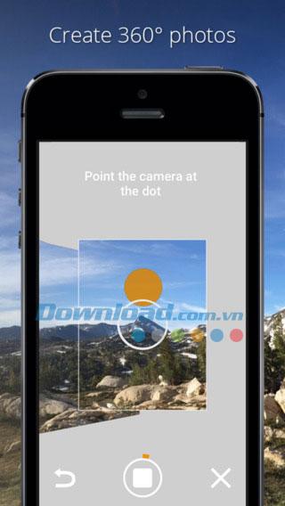 Photo Sphere Camera cho iOS