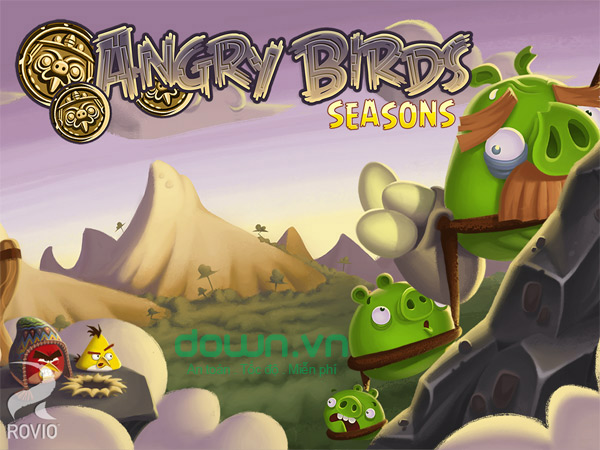 Angry Birds Seasons for iOS