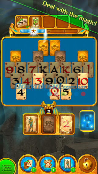 Pyramid Solitaire Saga cho iOS