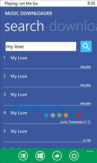 MP3 Downloader Plus cho Windows Phone