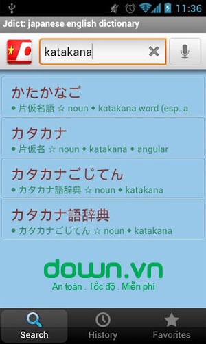 Vietnamese Japanese Dictionary cho Android
