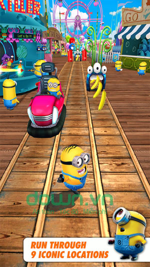Despicable Me: Minion Rush cho iOS