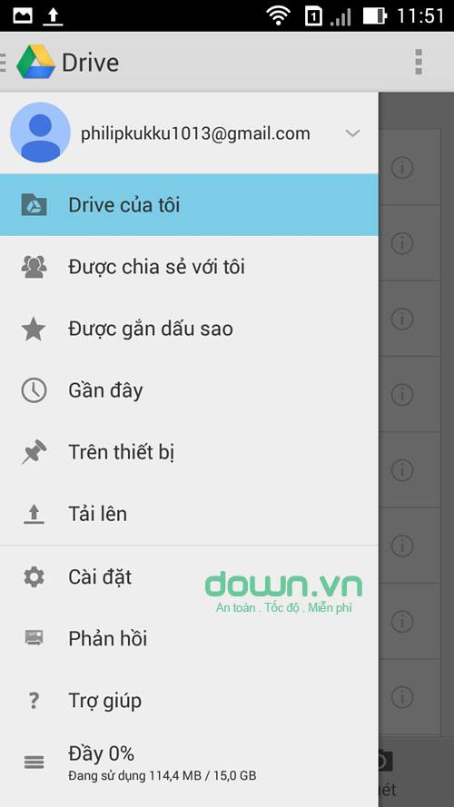 Google Drive cho Android