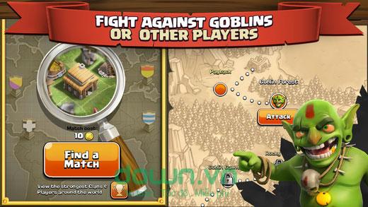 Clash of Clans cho iOS