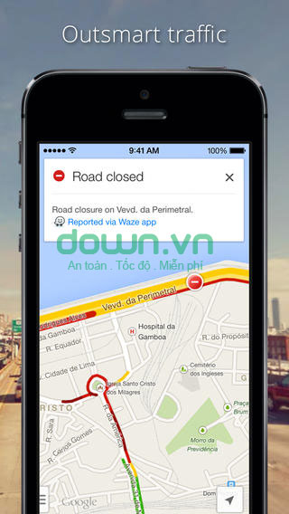 Google Maps cho iOS