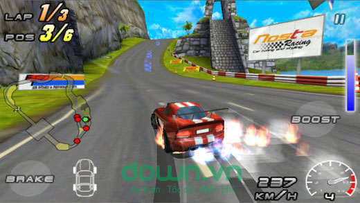 Raging Thunder 2 cho iOS