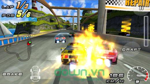Raging Thunder 2 cho iOS
