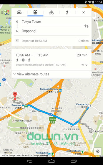 Maps cho Android