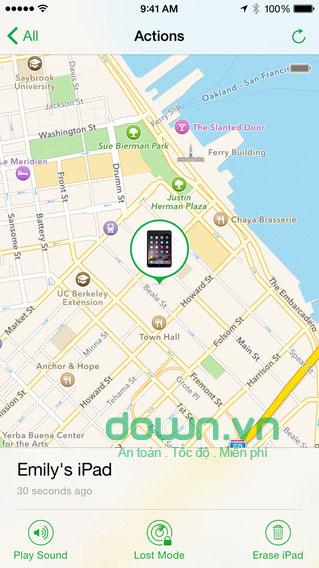 Find My iPhone cho iOS