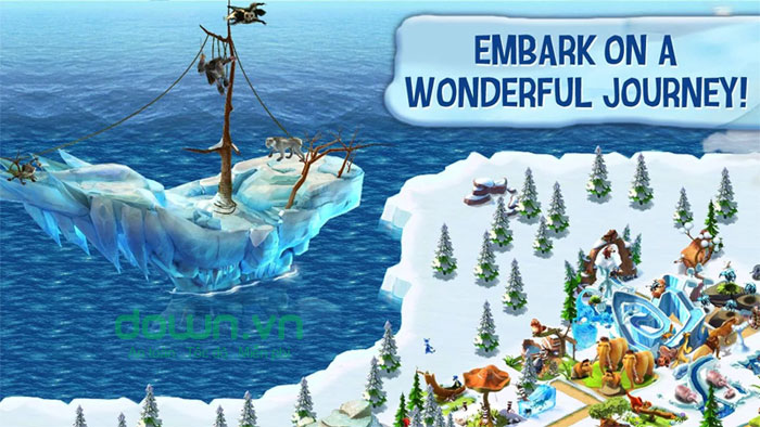 Ice Age Village cho Android