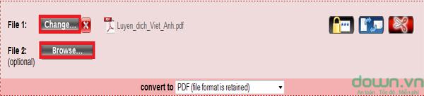 Chuyển đổi file pdf
