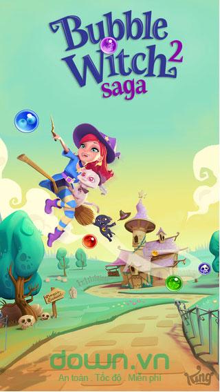 Bubble Witch 2 Saga cho iOS