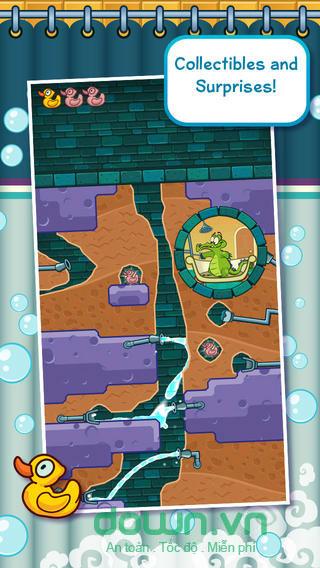 Where's My Water? Free cho iOS