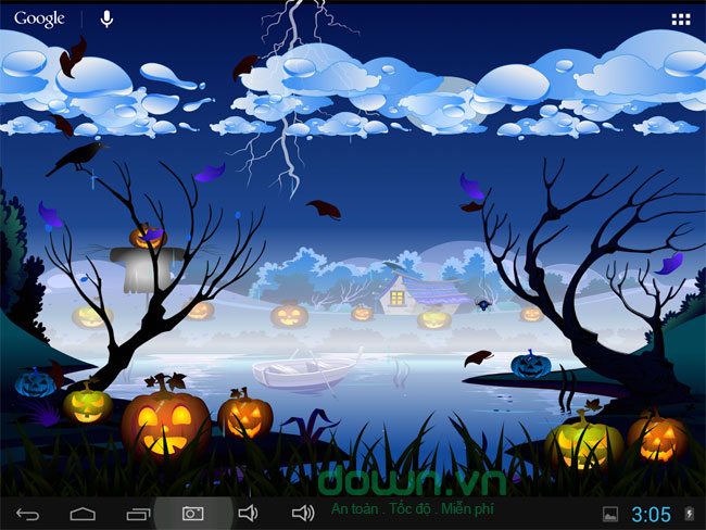 Halloween Live Wallpaper cho Android