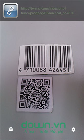 Scanner cho Windows Phone