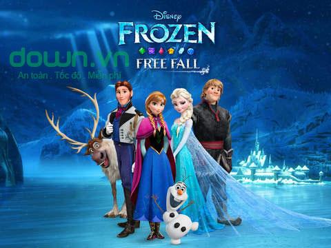 Frozen Free Fall cho iOS