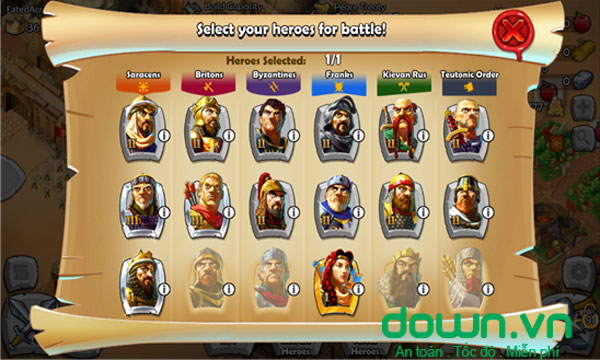 Ages of Empires: Castle Siege
