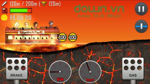 Hill Climb Racing cho iOS