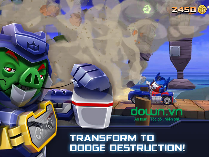 Angry Birds Transformers cho Android