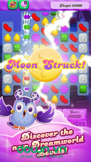 Candy Crush Saga cho iOS