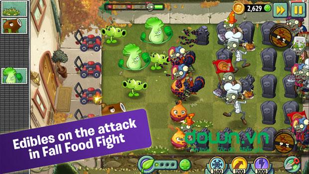 Plants vs. Zombies 2 cho iOS
