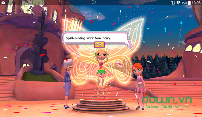Winx Club: Winx Fairy School Lite cho iOS