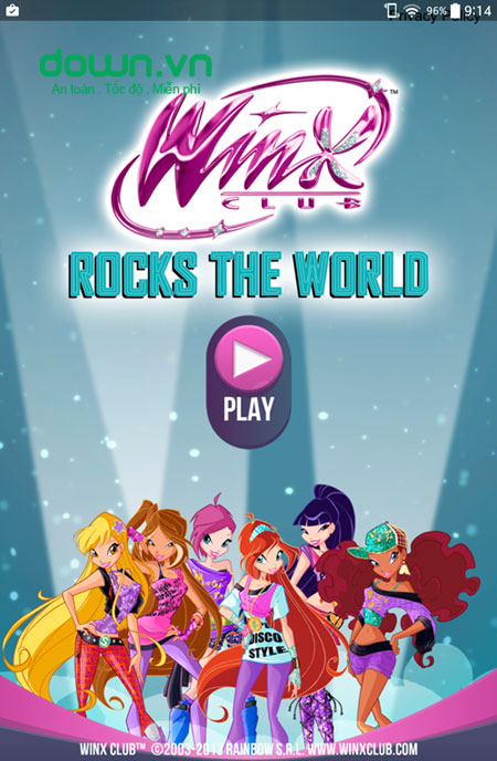 Winx Club: Rocks the World cho iOS