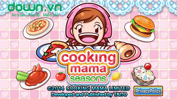 Cooking Mama Seasons cho iOS